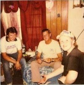 B.J. Jr.,B.J.Jones Sr. and Jason Foster