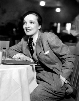 A photo of Marlene Dietrich