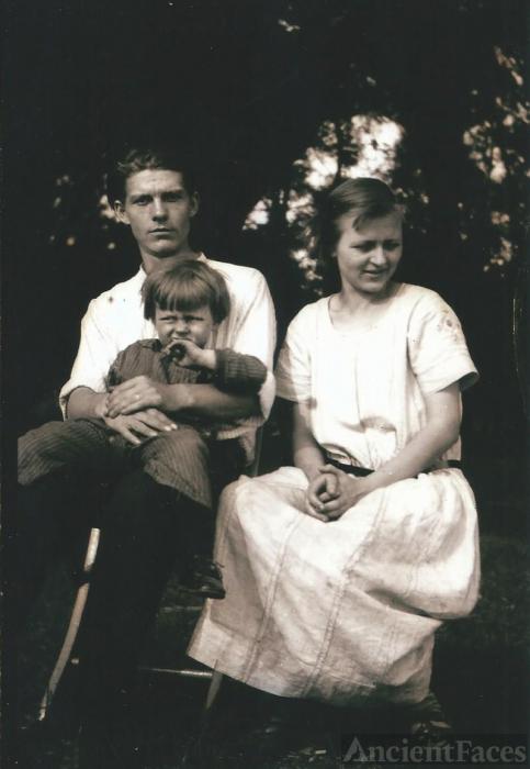 Charles, Carl,  & Elizabeth Ross