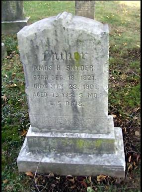 Amos H Snyder