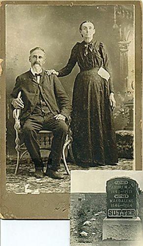 Andrew J. Sutter & Magdalena Klopfenstein