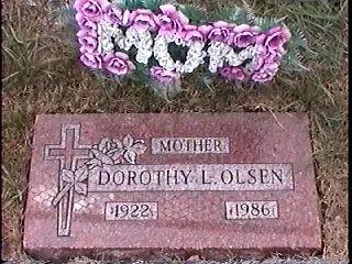 Dorothy L Olsen gravesite
