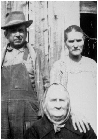 Mary Ann Martin Frye, Thomas and Martha Mabe Frye
