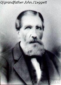 Irishman John Leggett