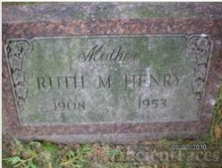 Ruth Mildred (Swarthout) Henry gravesite