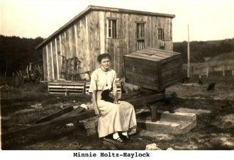A photo of Minnie (Holtz) Haylock