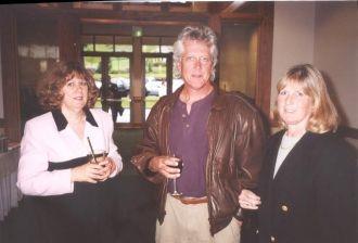 Rod Ferguson, Kathy Pinna, and Pam Kroetsch Marks