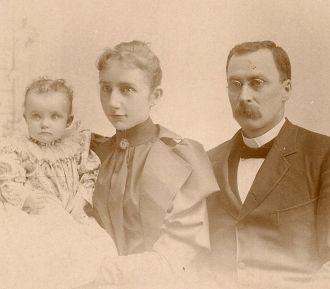 Rev. John S., Maude H., and Mary L. Thompson Family