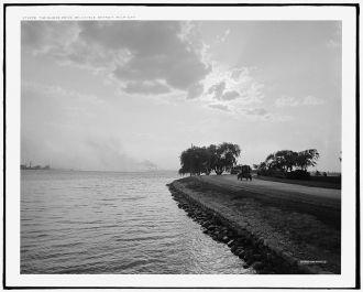The Shore Drive, Belle Isle [Park], Detroit, Mich.