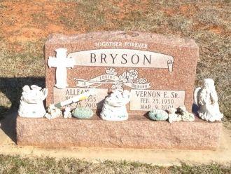 Vernon E. & Allean Bryson gravesite