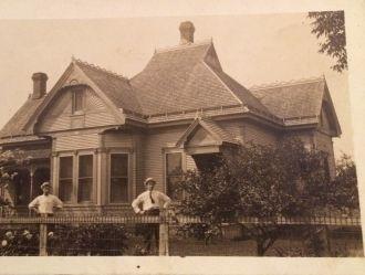 Unknown house & men