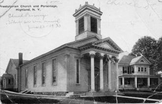 Presbyterian Church and Parsonage, NY