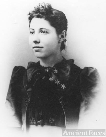 Fannie Ellsler (Davis) Poister 1894