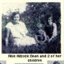 Allie Adcock Doan and 2 children