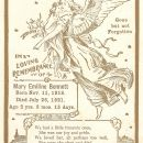 Mary Emiline Memorial Card