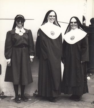 One Postulant and two Nuns in New Orleans