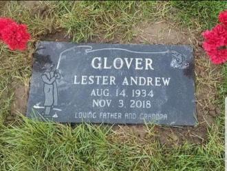 Lester Glover Gravestone