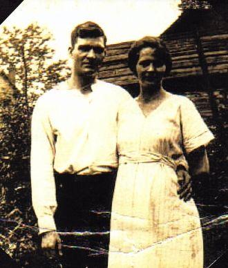 Ray and Lina Young, 1920