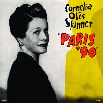 Cornelia Otis Skinner's book, Paris '90