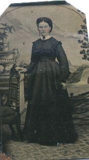 Annie (Sherburne) Hurd Ricker, Maine 1869