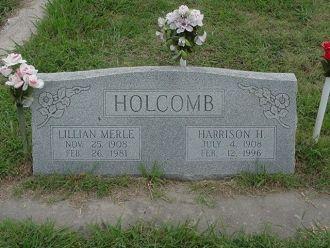 Harrison H Holcomb