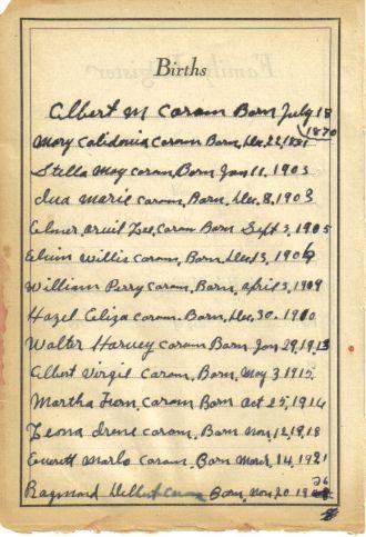 coram family bible