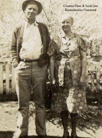 Grandma Sarah & Grandpa Clarence Hammond