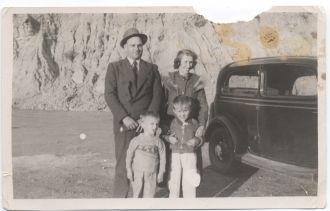 Jack G Crozier & family
