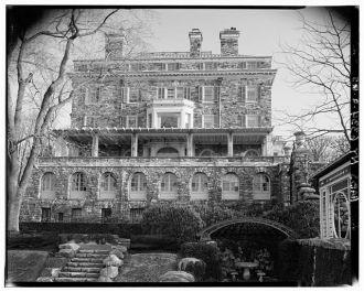 5. NORTHWEST FACADE - Kykuit, John D. Rockefeller, Sr....