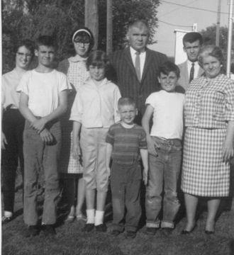 James Edward Ramage Family, 1960