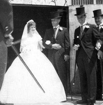 Alice Barbara (Brechin) O'Hearn wedding, 2