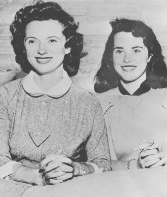 Sandra Jane Hayden and Jan Clayton