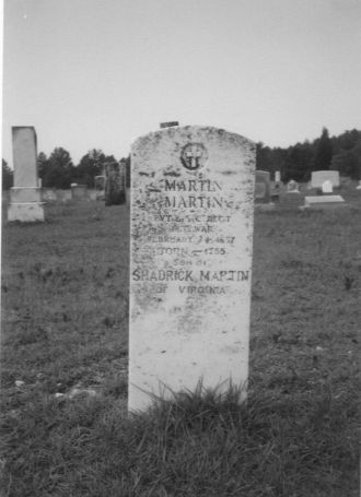 Grave of Martin MARTIN