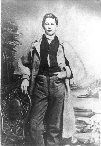 Nicholas Hinton Marr in Confederate coat