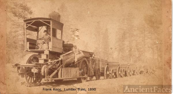 California lumber train