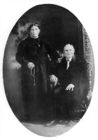 Christian and Martina (Hagel) Ziegler, KS 1905