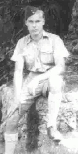 Cpl. George Smith at Gib age 22
