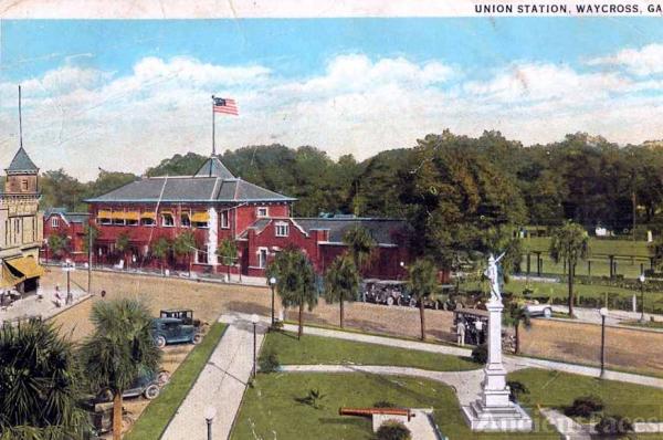 Union Station Waycross Georgia