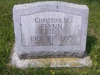 Christine M Flynn gravesite