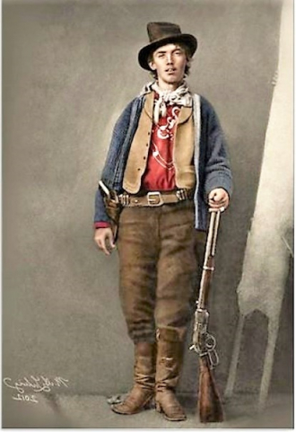 """William Henry """"Billy the Kid"""" Bonney / Mccarty"""