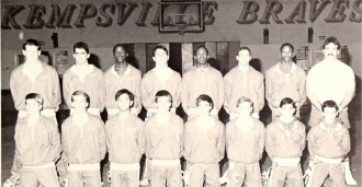1987 Kempsville Junior High School Wrestling Team