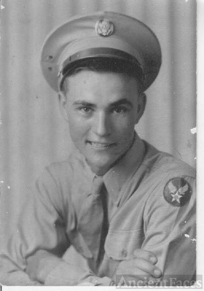 Clyde Herman Condley in Uniform