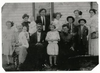 John and Mary Binkley family