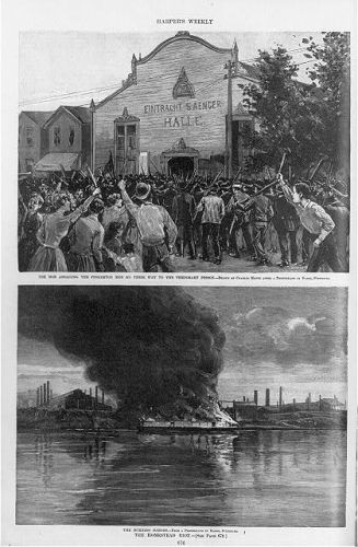 The Homestead riot