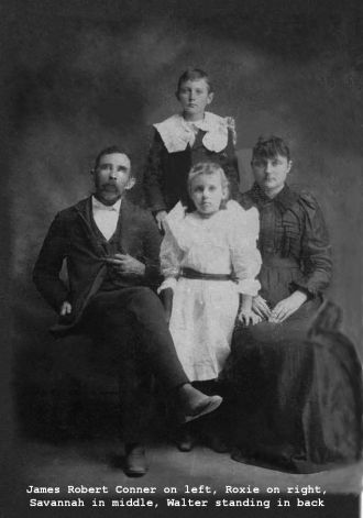 James Robert Conner and family