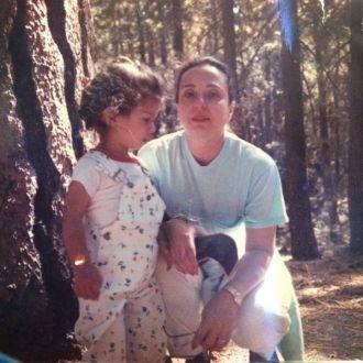 Anita with Janita C. Russo, MD