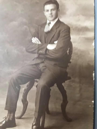 My grandad AS a young Handsome man