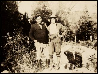 1900 California Couple