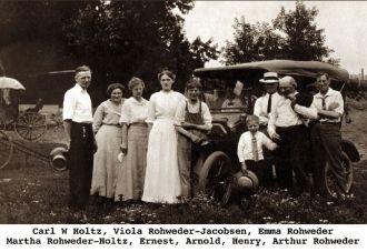 Rohweder family, Iowa