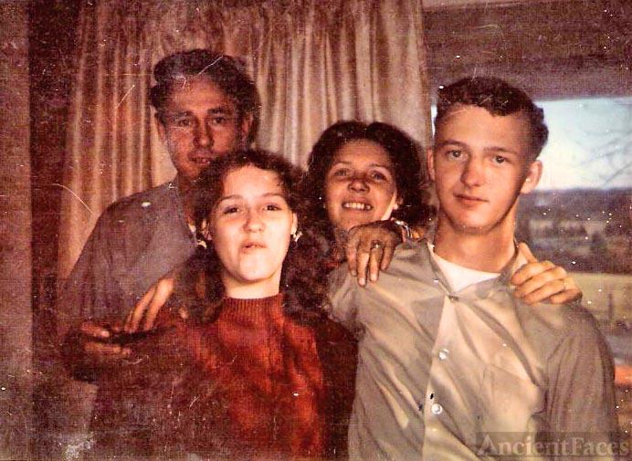 Floyd and Lettie Bell Baker's son Woodrow Wilson Baker